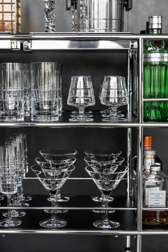 vilka glas ska man ha i en drinkvagn