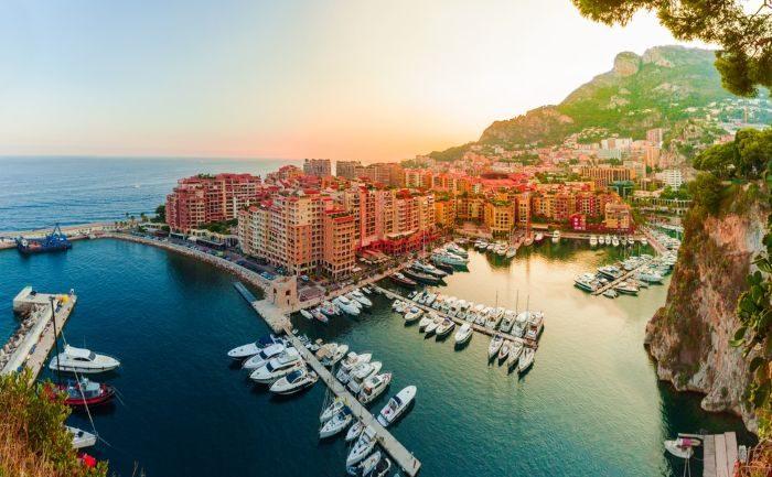 att göra i Monaco Monaco hamn