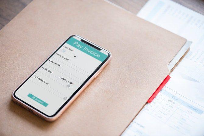 betala faktura med mobilen
