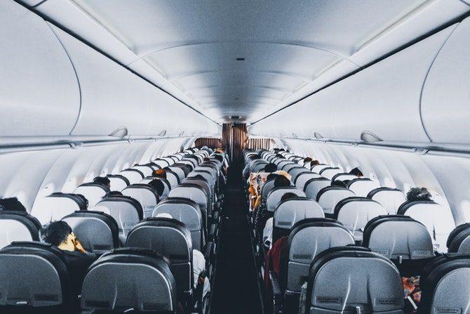 välja sittplats vid flygning