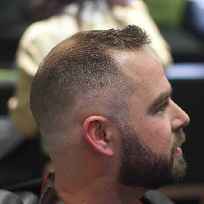 frisyr för skalliga män