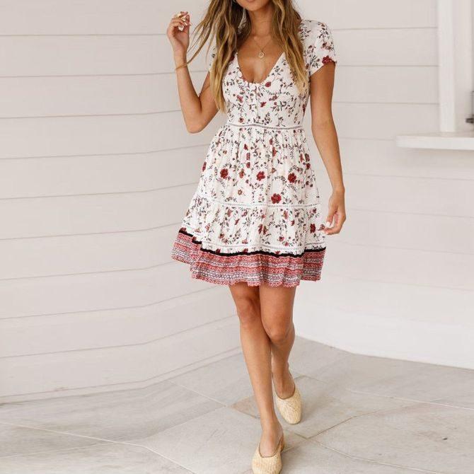 klädkod sommarfest dam tjej