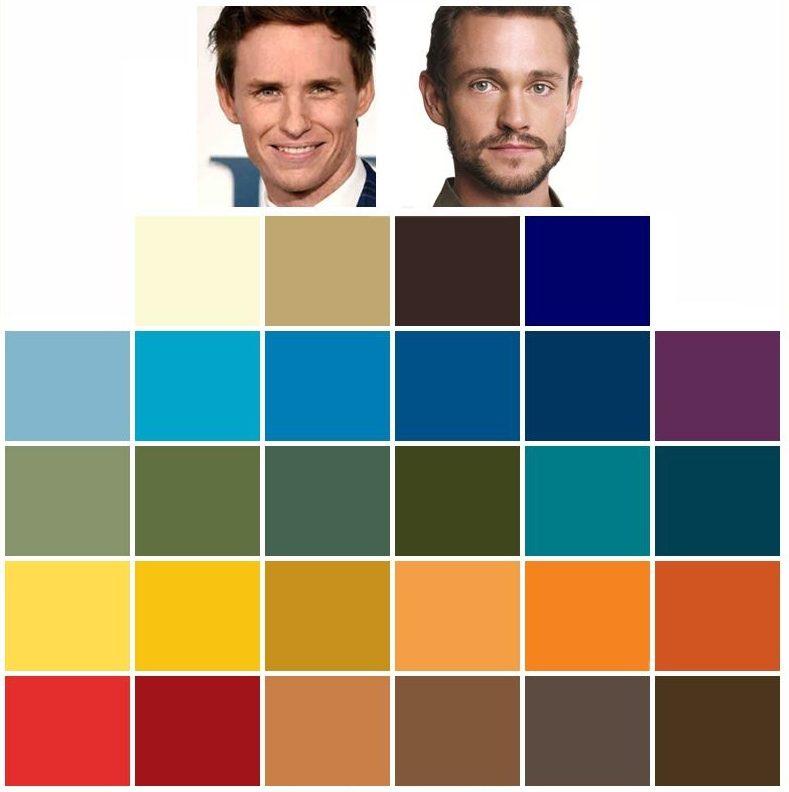 färganalys höst färgkarta