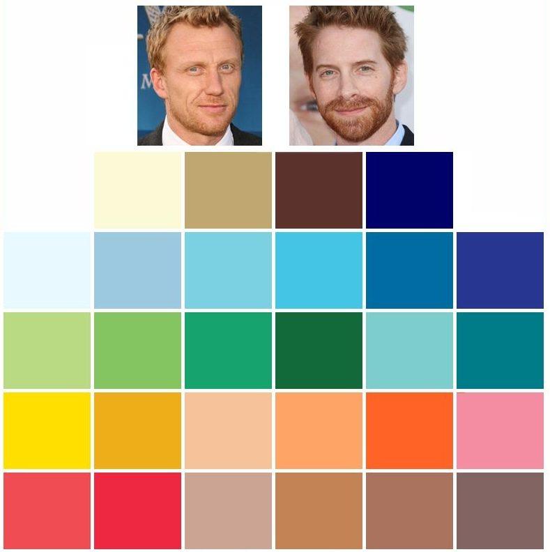 färganalys vår färgkarta