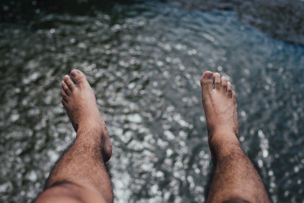permanent hårborttagning ben