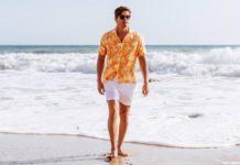 strandkläder snygg på stranden