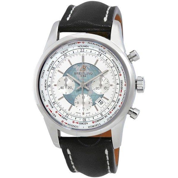 Breitling Transocean Chronograph Unitime klocka herr