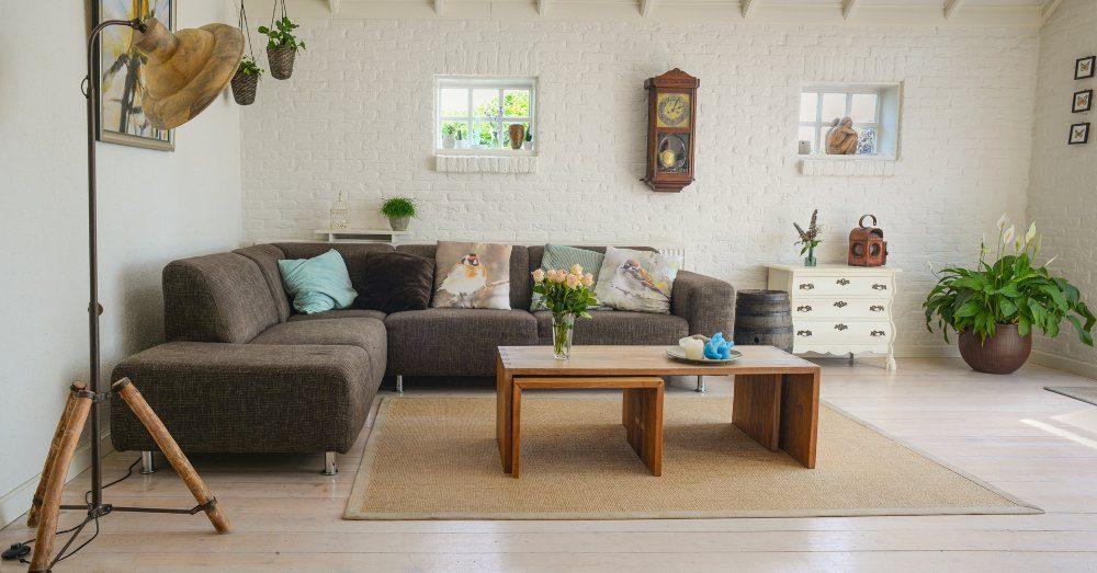 rent och fint prylfritt hem