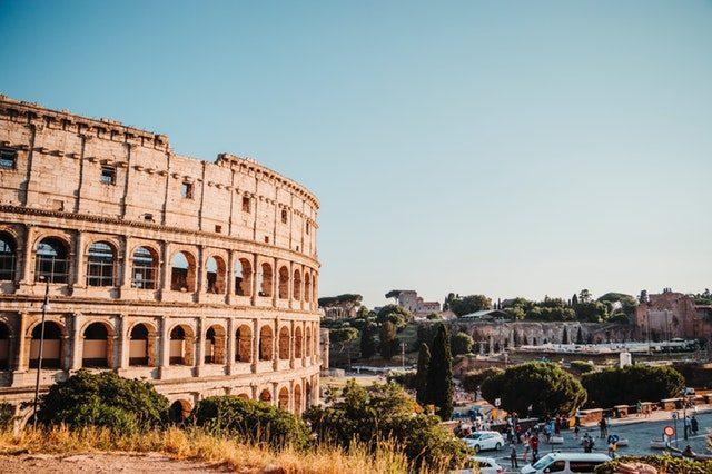 viktiga resmål rom