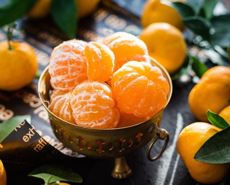 frukt med lite socker clementin mandarin
