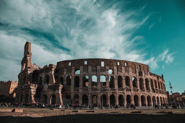 koloseum Grekland Rom