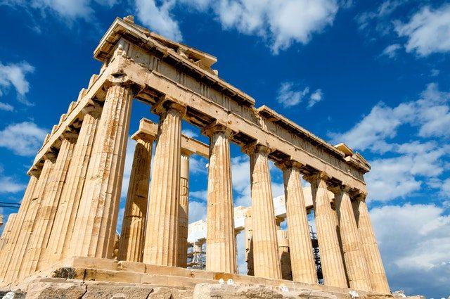 tempel Grekland antiken