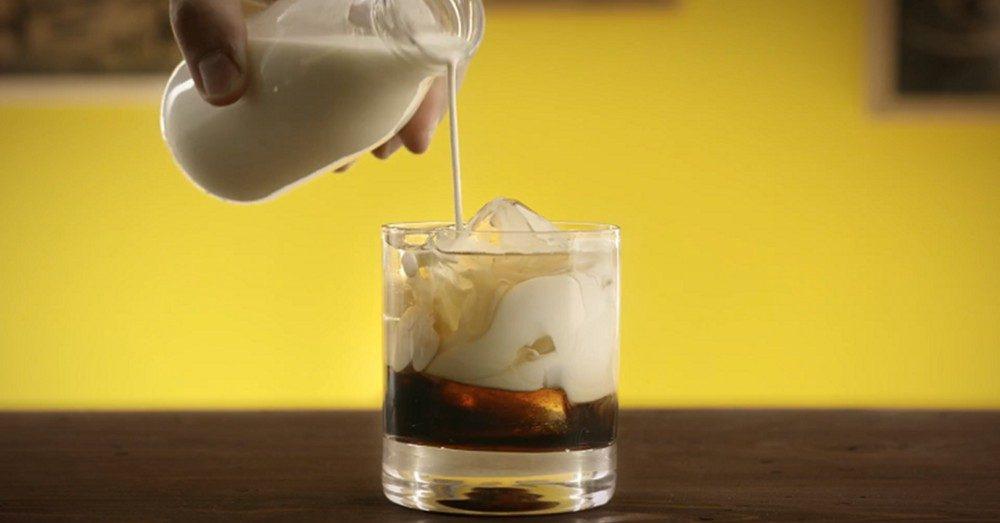 white russian drink recept