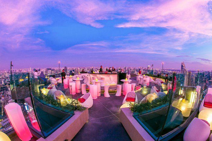 CRU Champagne Bar världens bästa takbar