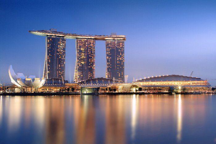 Marina Bay Sands takbar