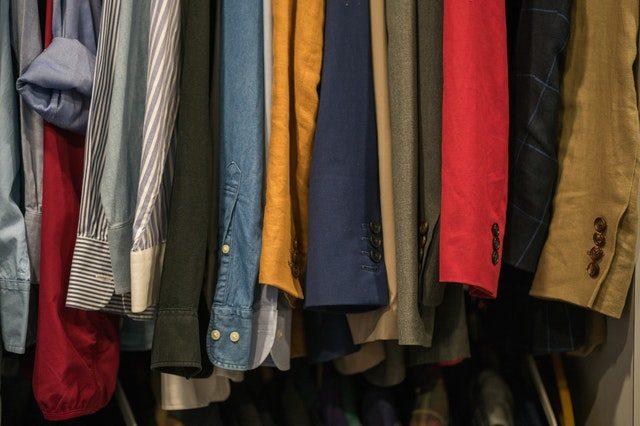 rensa ur garderoben