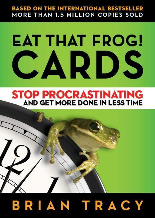 bok om personlig utveckling och självhjälp eat that frog