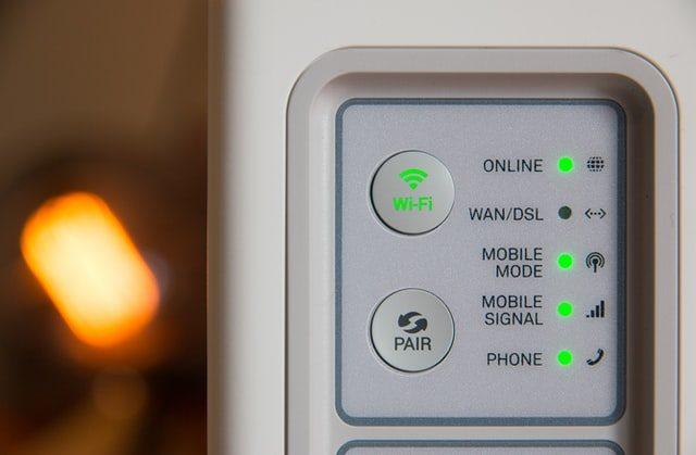 snabbt internet med router hemma