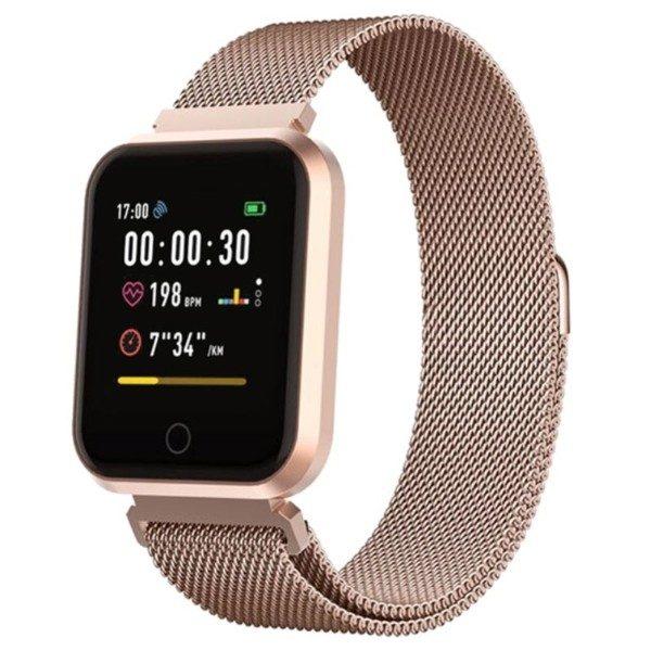 smartwatch i roseguld