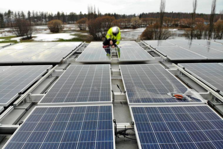 indus solceller modulkontor