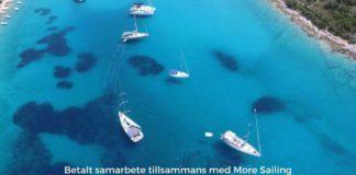 segla i Kroatien